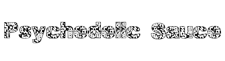 Psychedelic Sauce  Free Fonts Download