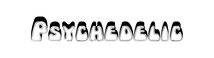 Psychedelic  Free Fonts Download