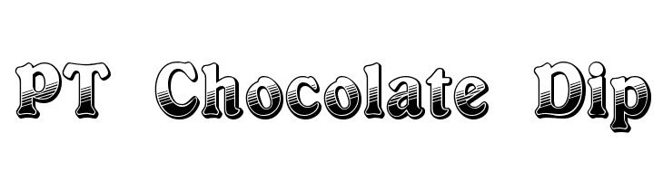 PT Chocolate Dip  Free Fonts Download