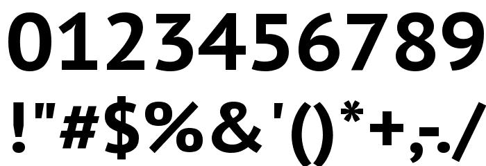 PT Sans Caption Bold フォント その他の文字