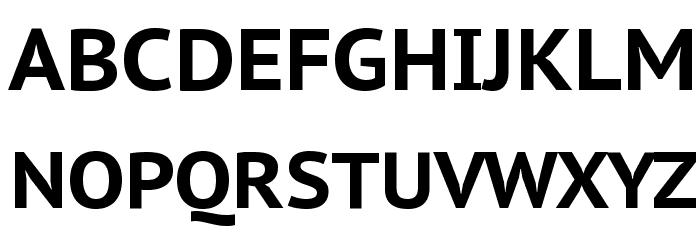PT Sans Caption Bold フォント 大文字