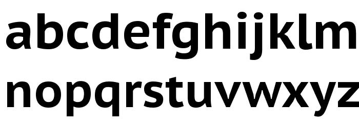 PT Sans Caption Bold フォント 小文字