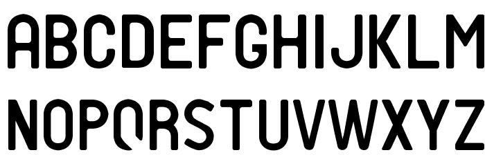 PTF NORDIC Rnd Lt Schriftart Kleinbuchstaben