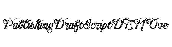 PublishingDraftScriptDEMOve  baixar fontes gratis