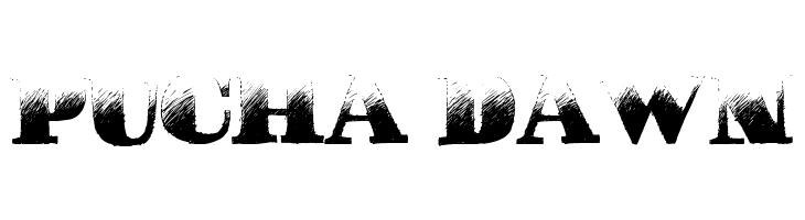 Pucha DAWN  font caratteri gratis