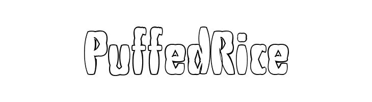 PuffedRice  नि: शुल्क फ़ॉन्ट्स डाउनलोड