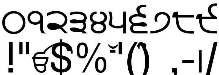 Punjabi Font OTHER CHARS