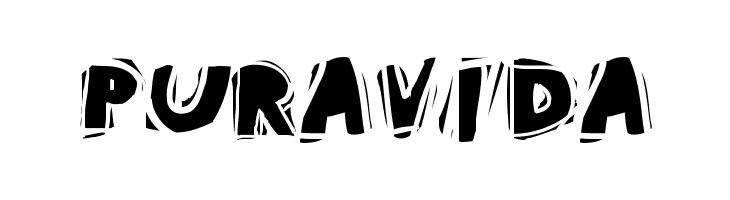 PuraVida Font - free fonts download