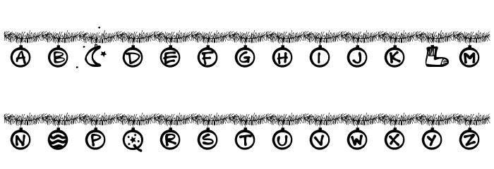 PWChristmastime Font Litere mici