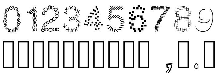 PWPatchwork Шрифта ДРУГИЕ символов