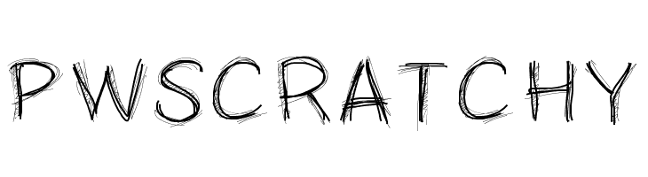 PWScratchy  Free Fonts Download