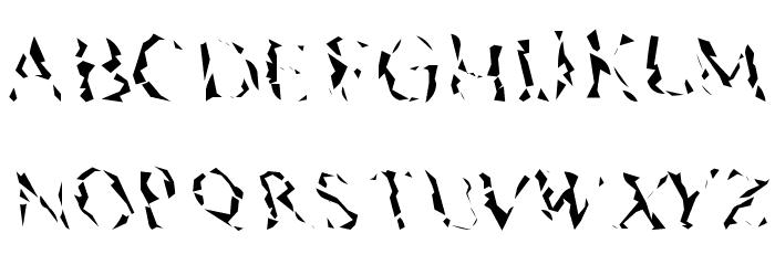 Pyramidhead لخطوط تنزيل الأحرف الكبيرة