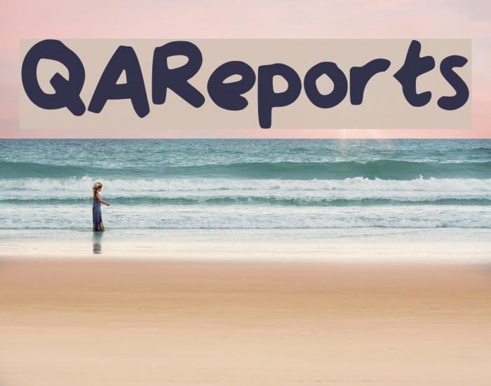 QAReports Fonte examples