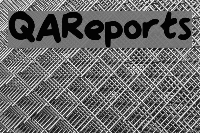 QAReports Font examples