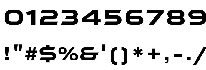 Qaranta Bold Шрифта ДРУГИЕ символов