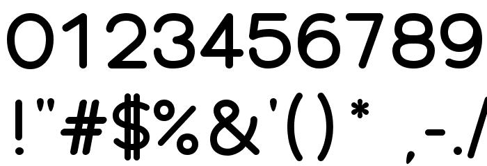 Qarmic sans free Font OTHER CHARS