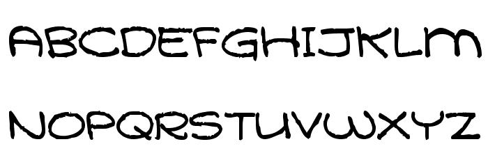 Qarolina Font Litere mari
