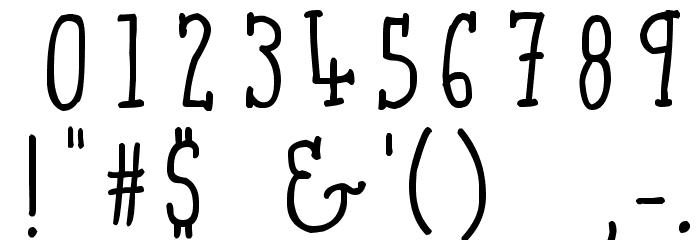Qarrotface 字体 其它煤焦