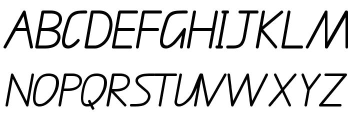 QLD Font UPPERCASE