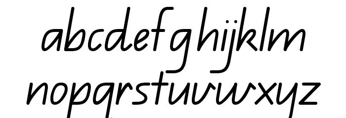 QLD Font LOWERCASE