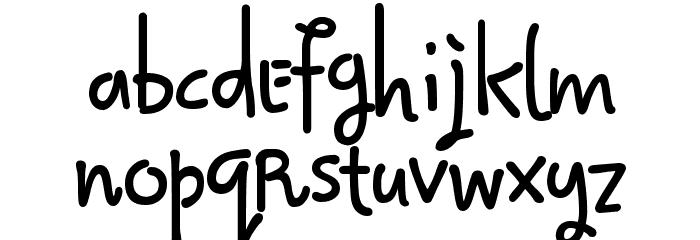 Qokijo Шрифта строчной