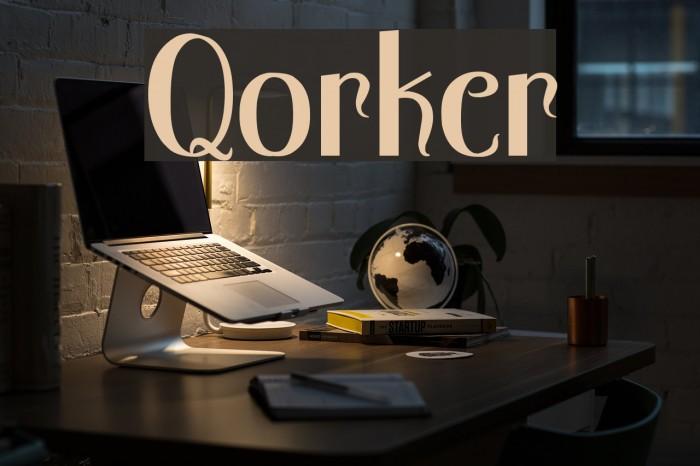 Qorker لخطوط تنزيل examples