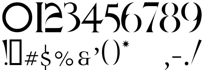 QUAKE Font OTHER CHARS