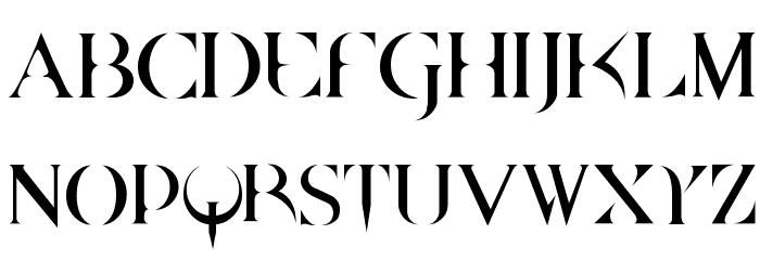 QUAKE Font UPPERCASE