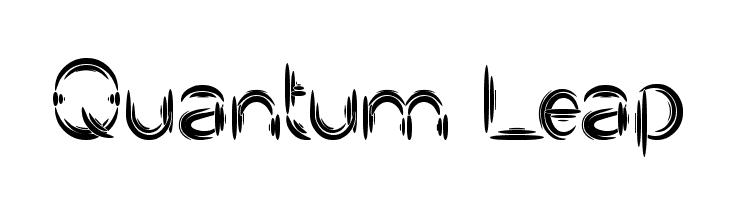 Quantum Leap  baixar fontes gratis