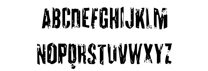 Quarrystone Condensed Font UPPERCASE