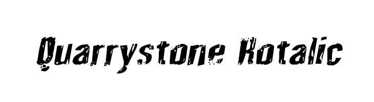 Quarrystone Rotalic  Free Fonts Download