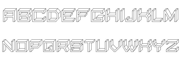 Qubio Regular Font LOWERCASE