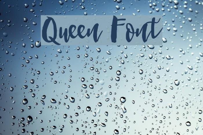 Queen Font examples