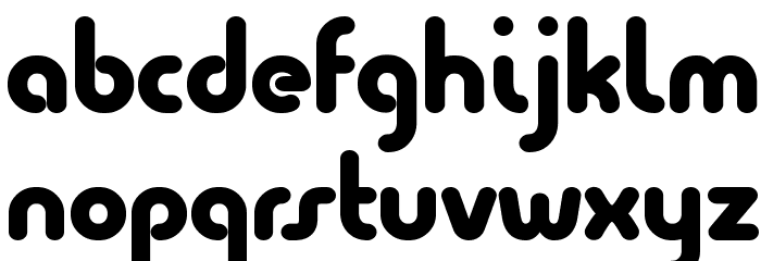 Quesat Black Demo Font LOWERCASE