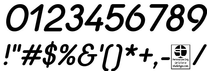 Quesat Demi Bold Demo Italic Schriftart Anderer Schreiben