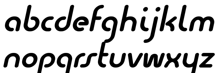 Quesat Demi Bold Demo Italic Polices MINUSCULES