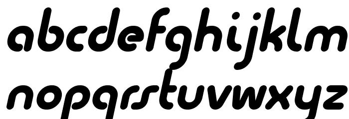 Quesat Demo Bold Italic Schriftart Kleinbuchstaben