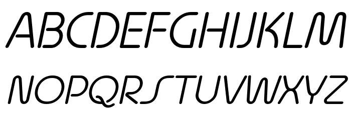 Quesat Demo Italic Schriftart Groß