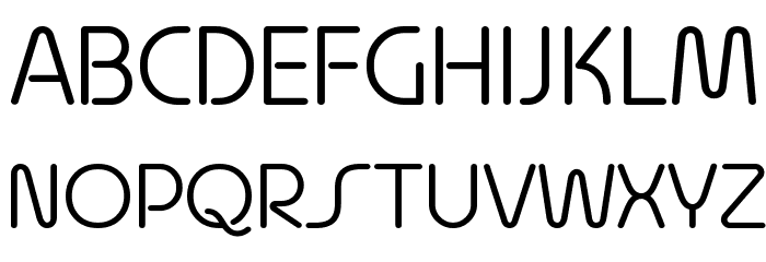 Quesat Demo Font UPPERCASE