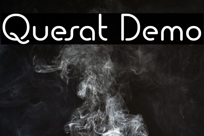 Quesat Demo Fonte examples