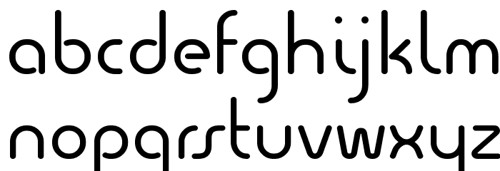 Quesat Demo Font LOWERCASE