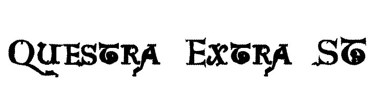 Questra Extra ST  Free Fonts Download