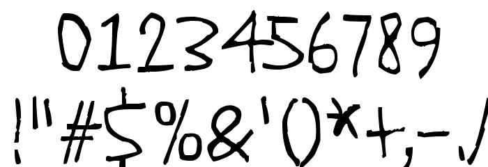 Quick Pangolin Шрифта ДРУГИЕ символов