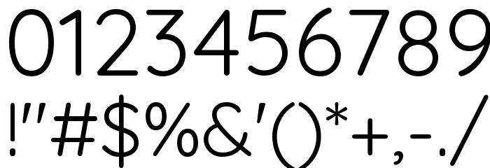 Quicksand-Regular Font OTHER CHARS