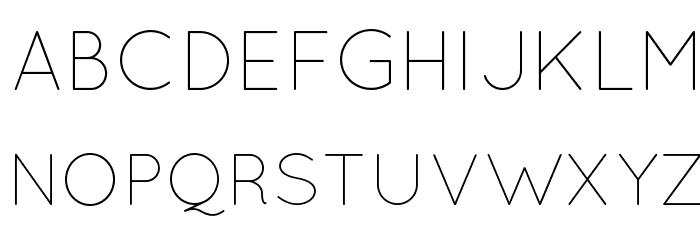 QuicksandLight-Regular फ़ॉन्ट अपरकेस
