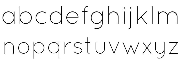 QuicksandLight-Regular फ़ॉन्ट लोअरकेस