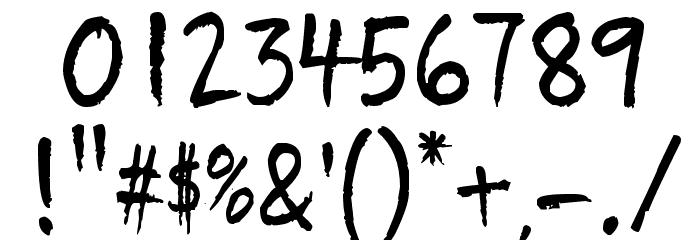 Quikhand Шрифта ДРУГИЕ символов