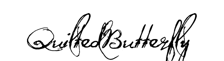 QuiltedButterfly  Free Fonts Download