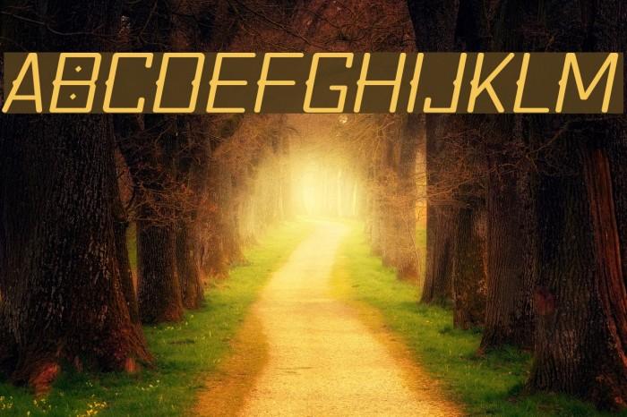 Quirko-LightOblique Font examples