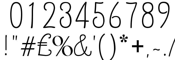 Quirlycues Шрифта ДРУГИЕ символов